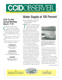 CCID Observer 2008 - Issue 1