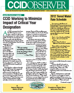 CCID Observer 2012 - Issue 1