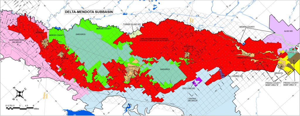 GSA Delta Mendota Sub basin