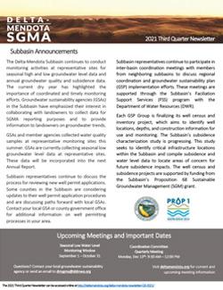 Delta-Mendota Newsletter Quarter 3 2021